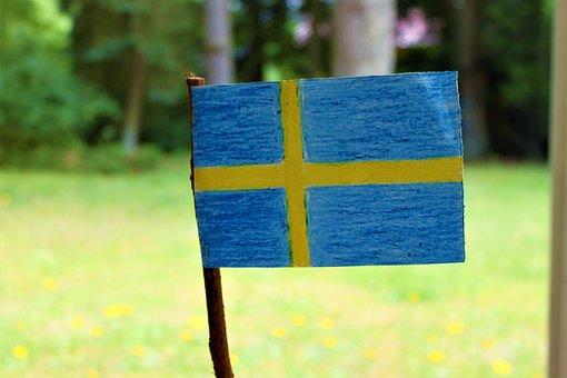 bild svenskaflaggan