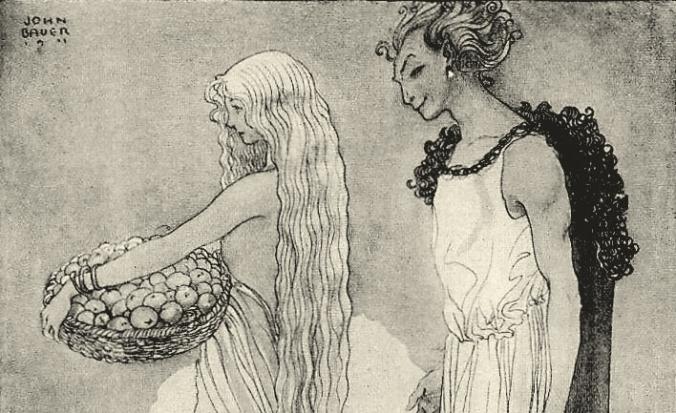 Bild Loke och Idun